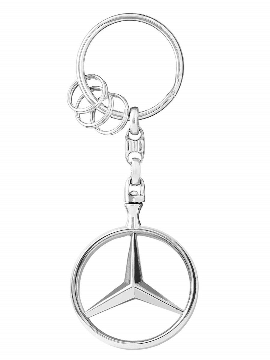 ◆◆【MercedesBenz CLクラス】W217 C217 A217 W216 C216 W215 C215 ベンツ純正品 キーホルダー【スリーポインテッドスター】_画像2