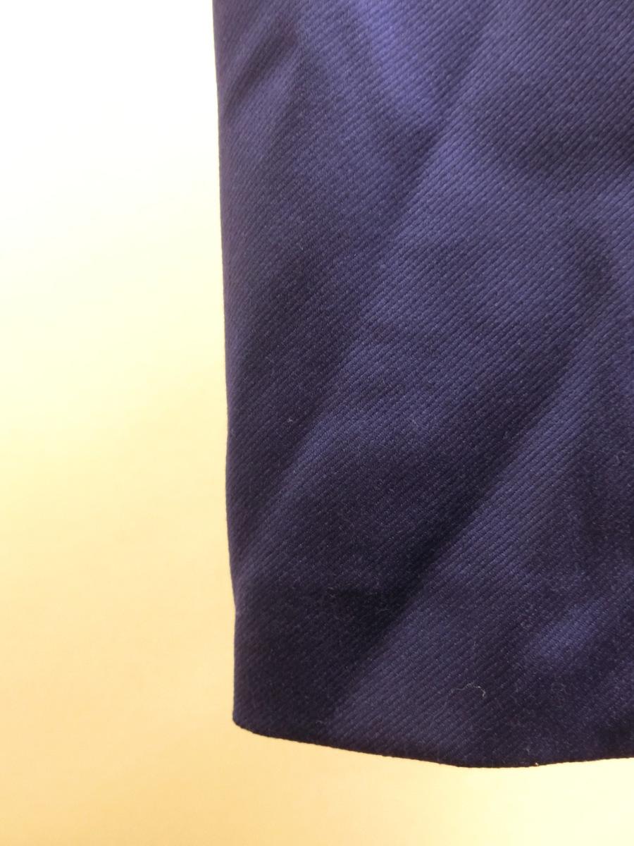 イタリア製 BABARA PARIS ビジュー ビーズ ベルト デザイン ワンピース 40 パープル 紫 レディース HR1809-231_画像2