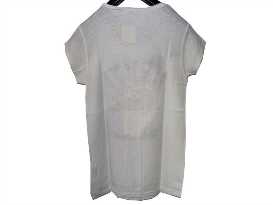 スワンジー SWANZY レディース半袖Tシャツ ホワイト SW09T02 新品_画像3