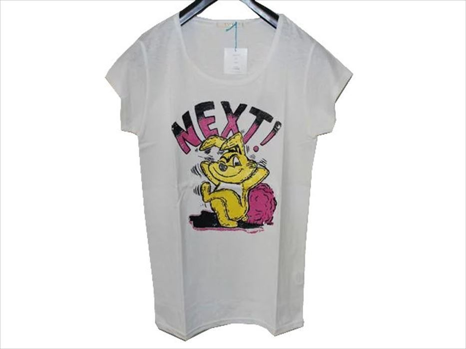 スワンジー SWANZY レディース半袖Tシャツ ホワイト SW09T02 新品_画像1