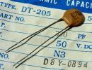 Nichicon DT-205 ceramic condenser (50V/330pF) [20 piece collection ].c