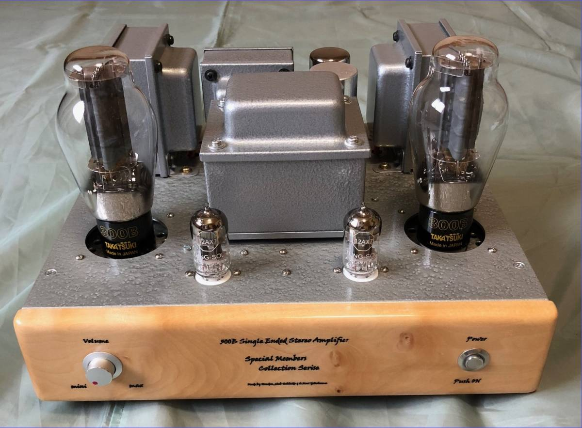 Audio Collections 300B amplifier ( white deer moa material