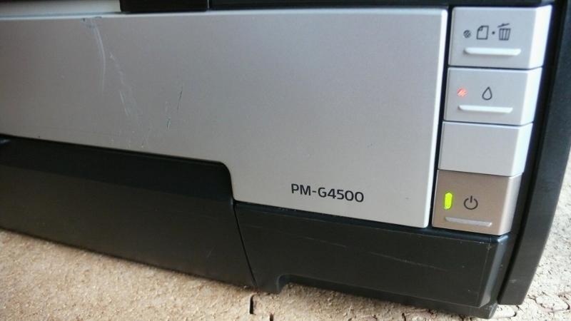EPSON エプソン PM-G4500 インクジェットプリンター ジャンク_画像3