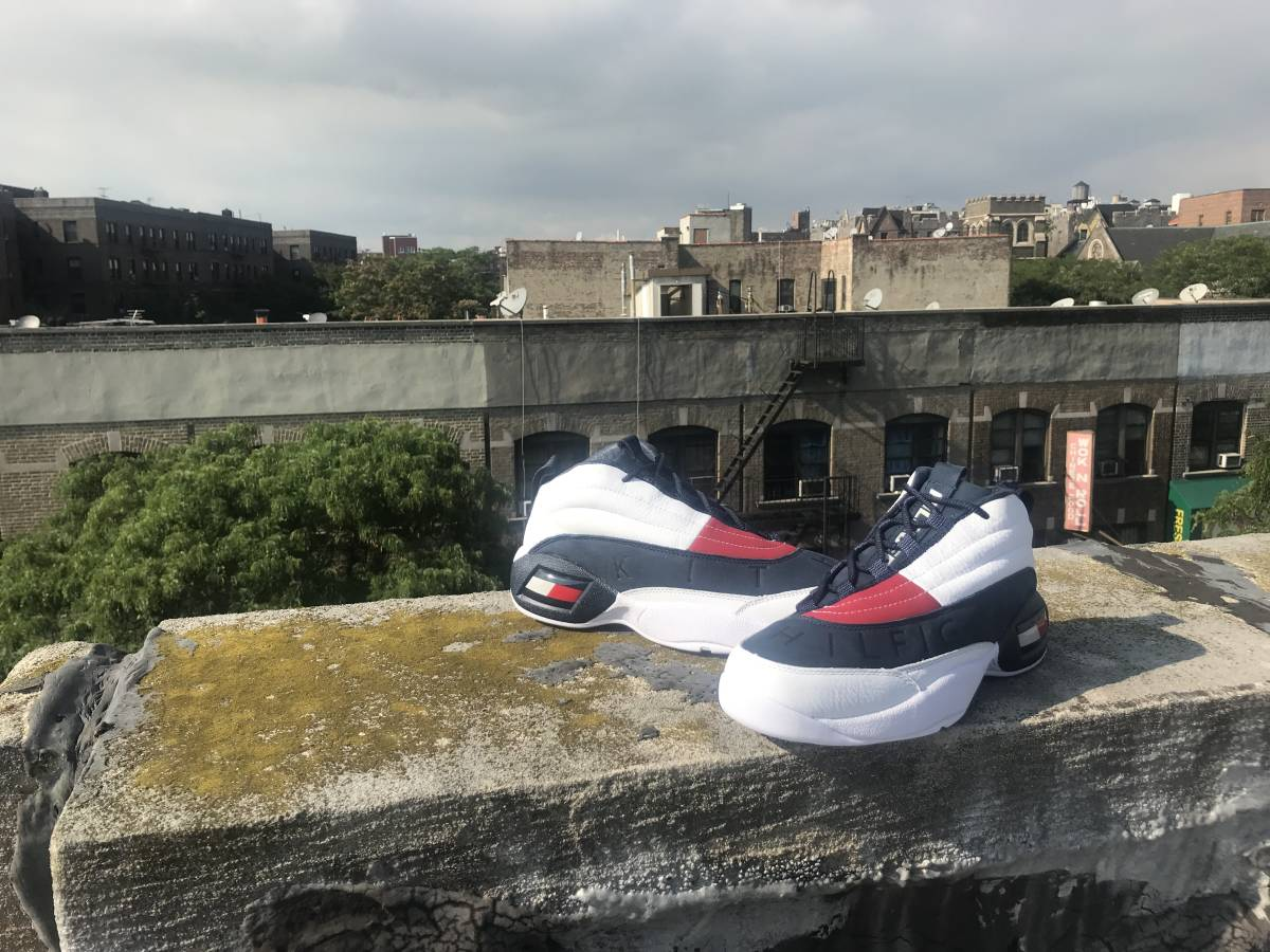 7f712f7368b1 Auction ID f297111450  US8.5 Kith x Tommy Hilfiger Collection 26.5cm ...
