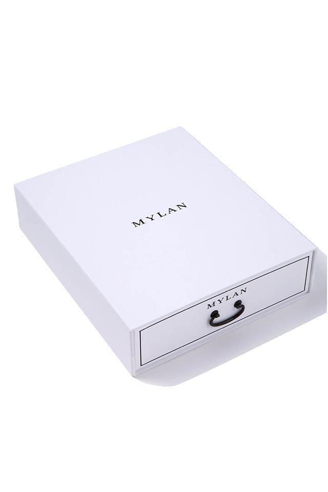 mylan マイラン ギフトボックス 引き出し 箱 BOX 新品☆_画像1