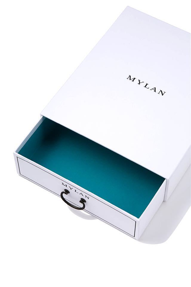 mylan マイラン ギフトボックス 引き出し 箱 BOX 新品☆_画像4