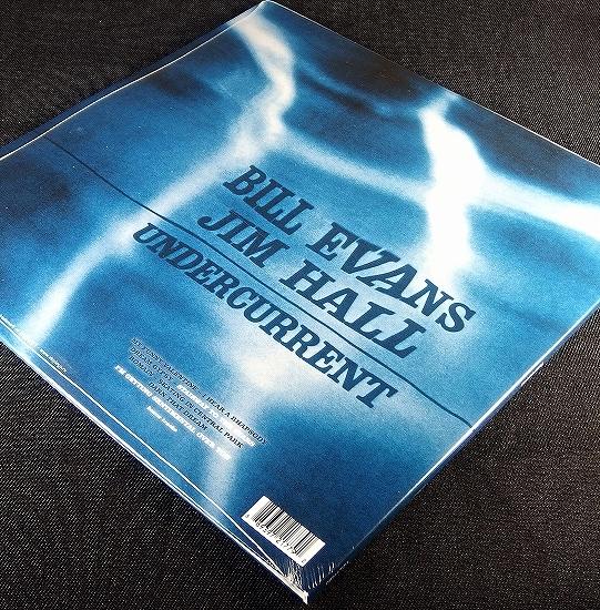 新品LP HQ 180g盤 1LP【Bill Evans Jim hall/Undercurrent】★ボーナス2曲 EU盤 見開きジャケ★史上最も美しいピアノとギターによるデュオ!_画像4