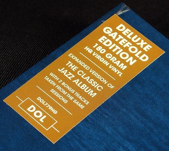 新品LP HQ 180g盤 1LP【Bill Evans Jim hall/Undercurrent】★ボーナス2曲 EU盤 見開きジャケ★史上最も美しいピアノとギターによるデュオ!_画像8