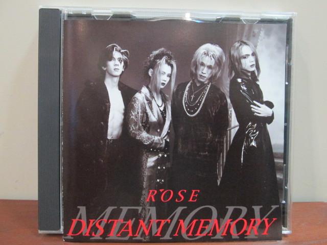 R'OSE/ローズ 「DISTANT MEMORY/ディスタント・メモリー」 メトロノーム V系 ヴィジュアル