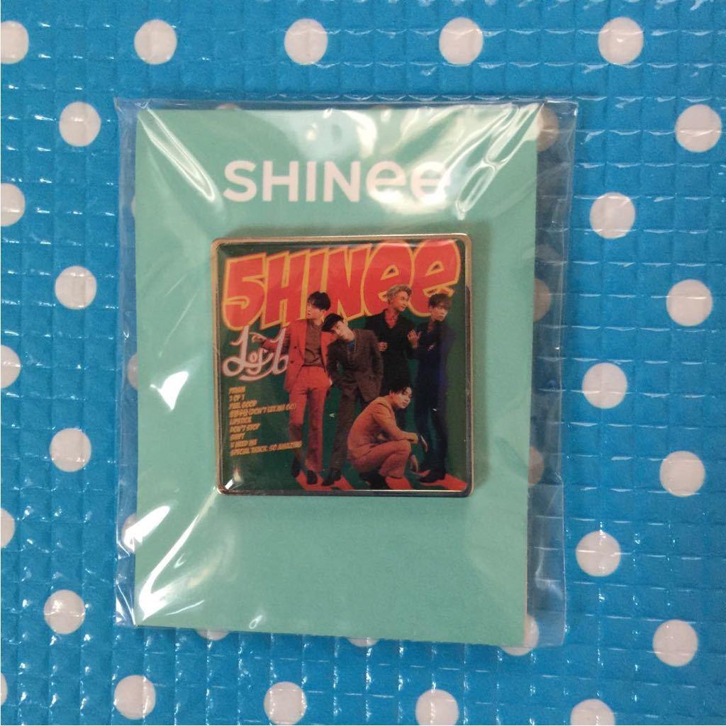 SHINee day debut 10th anniversary 10周年 SM 公式 SUM COEX★アルバム ピンバッジ ピンバッチ 1of1 オニュ テミン KEY ミノ ジョンヒョン_画像1