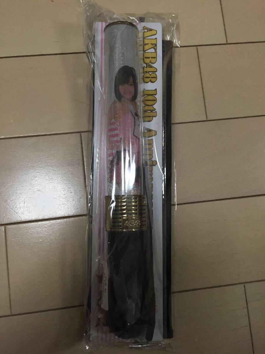 新品 NMB48 AKB48 山本彩 10周年記念 推し スティックライト 10th 専用ケース付き 卒業コンサート