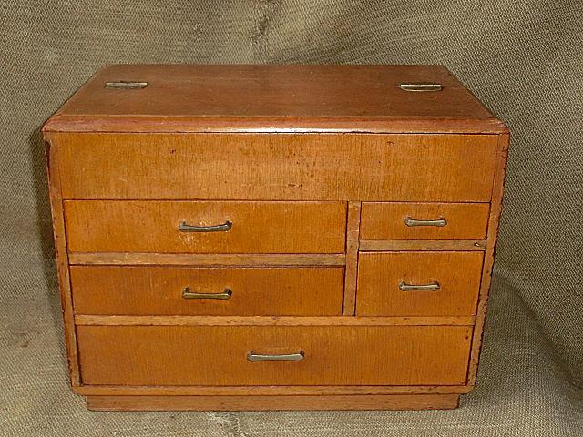 大正ロマン 昭和レトロビンテージ 針箱 裁縫箱 裁縫道具 ソーイングボックス 裁縫 和裁 洋裁 収納箱 木製 小引き出し 小物入れ