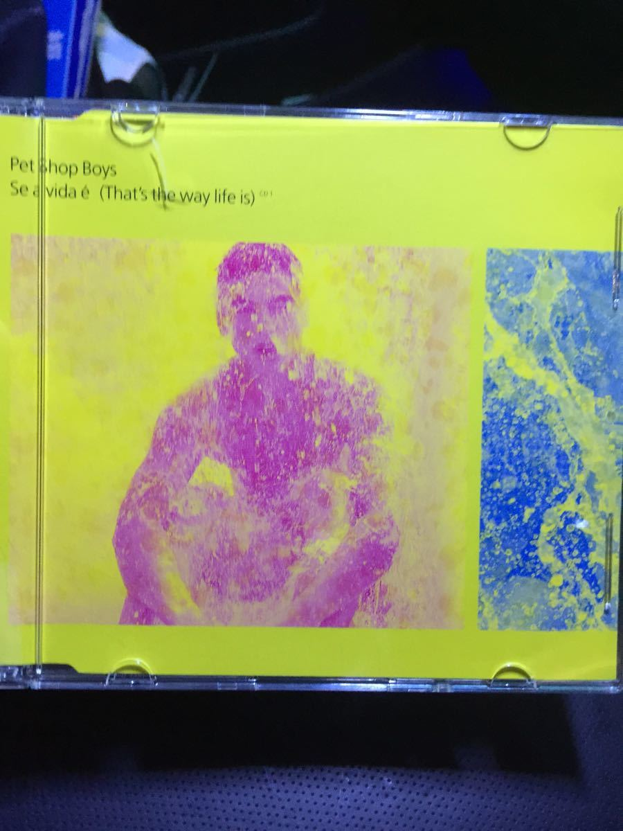 Pet shop boys / that's the way life is ★ CD ★ 中古即決 送料無料です!!