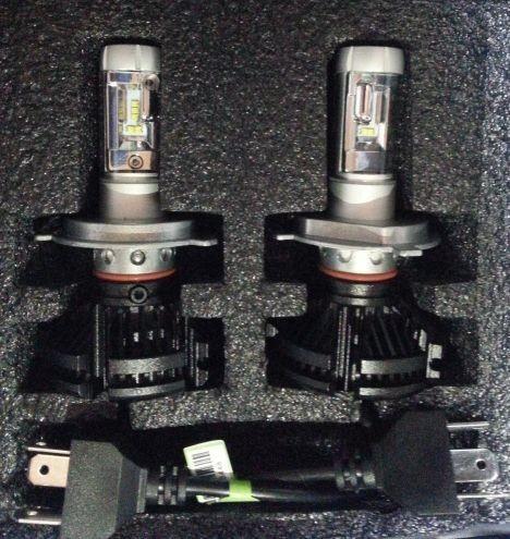 PHILIPS LED チップ スカイウェイブ650 400 250 12000lm Hi Lo H4 ヘッドライト 3000K 6500K 8000K 新基準車検対応_画像5