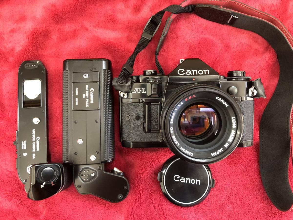★Canon キャノン A-1 AE-1 その他レンズセット ジャンク品_画像2