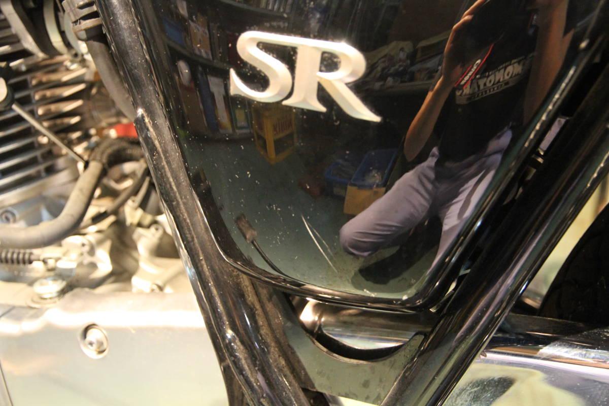 乾式クラッチ装着以外フルノーマル車SR400RH03J走行距離少1973km予備車検有り!_画像8
