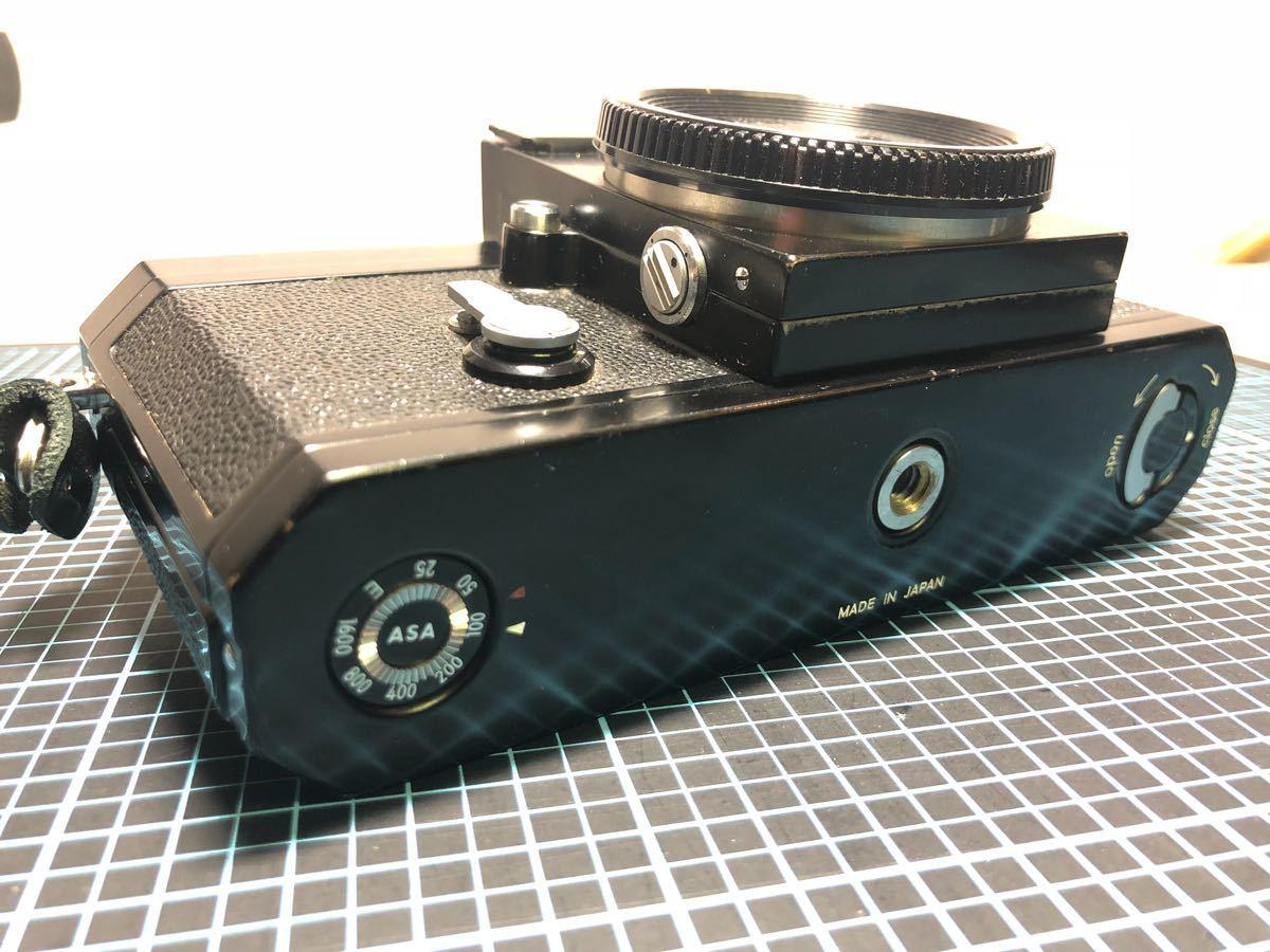 Nikon F ニコン ブラック 美品_画像2