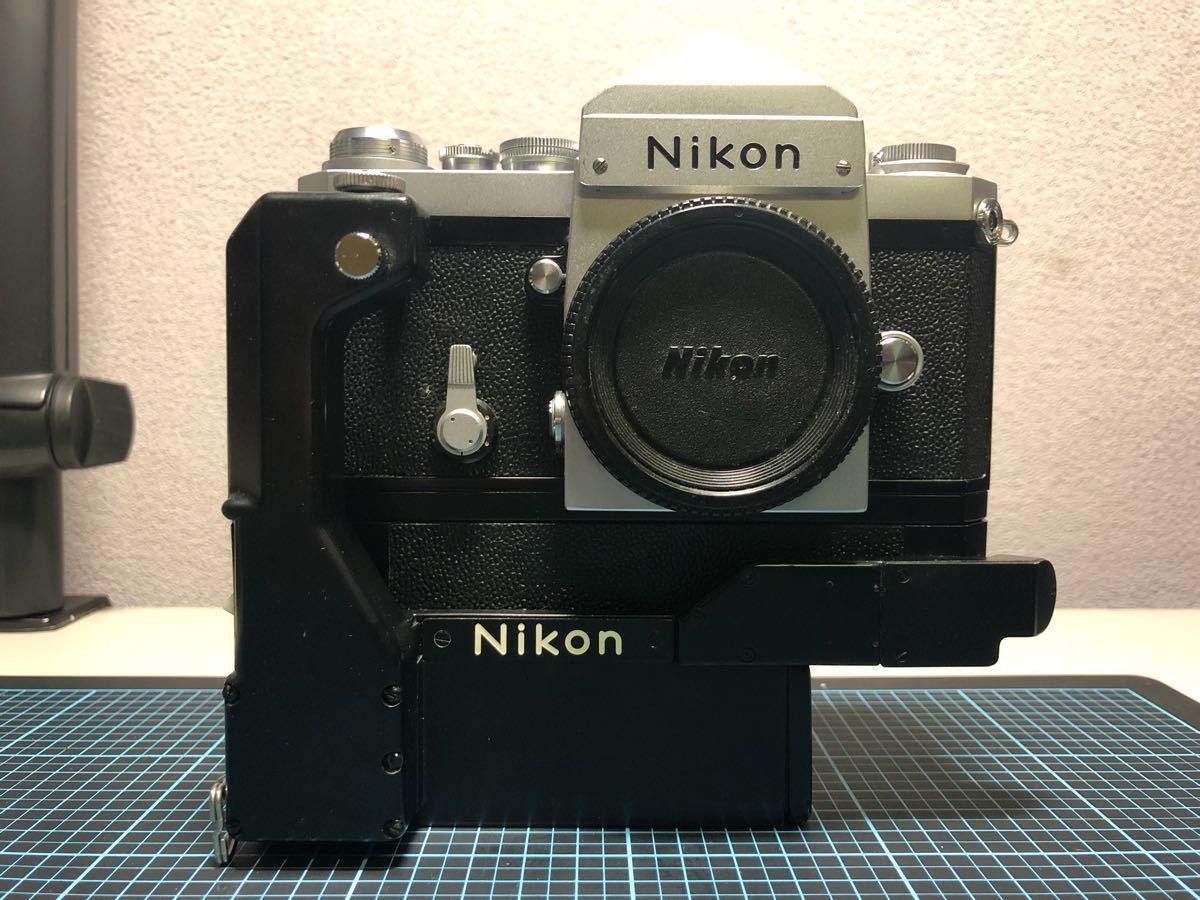 超貴重!美品クラス Nikon F ニコン F-36モータードライブ付き!動作確認済み
