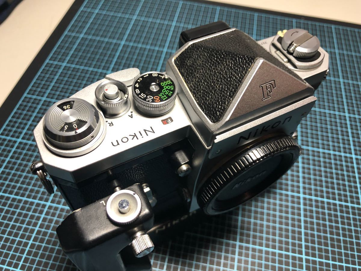 超貴重!美品クラス Nikon F ニコン F-36モータードライブ付き!動作確認済み_画像2