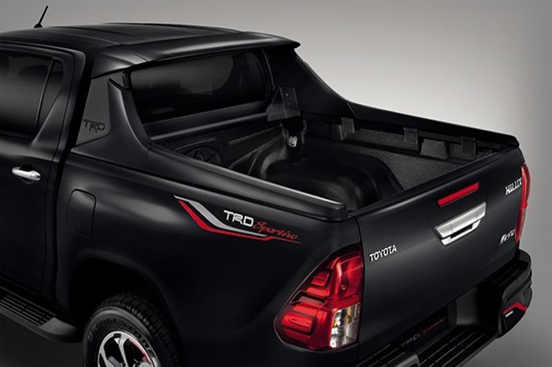 新型ハイラックス スポーツバー スーパーホワイトⅡ 040 タイ トヨタ TRD 純正 アクセサリ パーツ ロールバー TOYOTA HILUX GUN125_国内在庫品を発送致します。