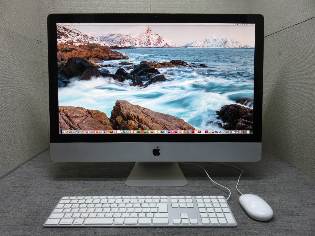 ダブル Mac OS X & Windows7が使用出来ます