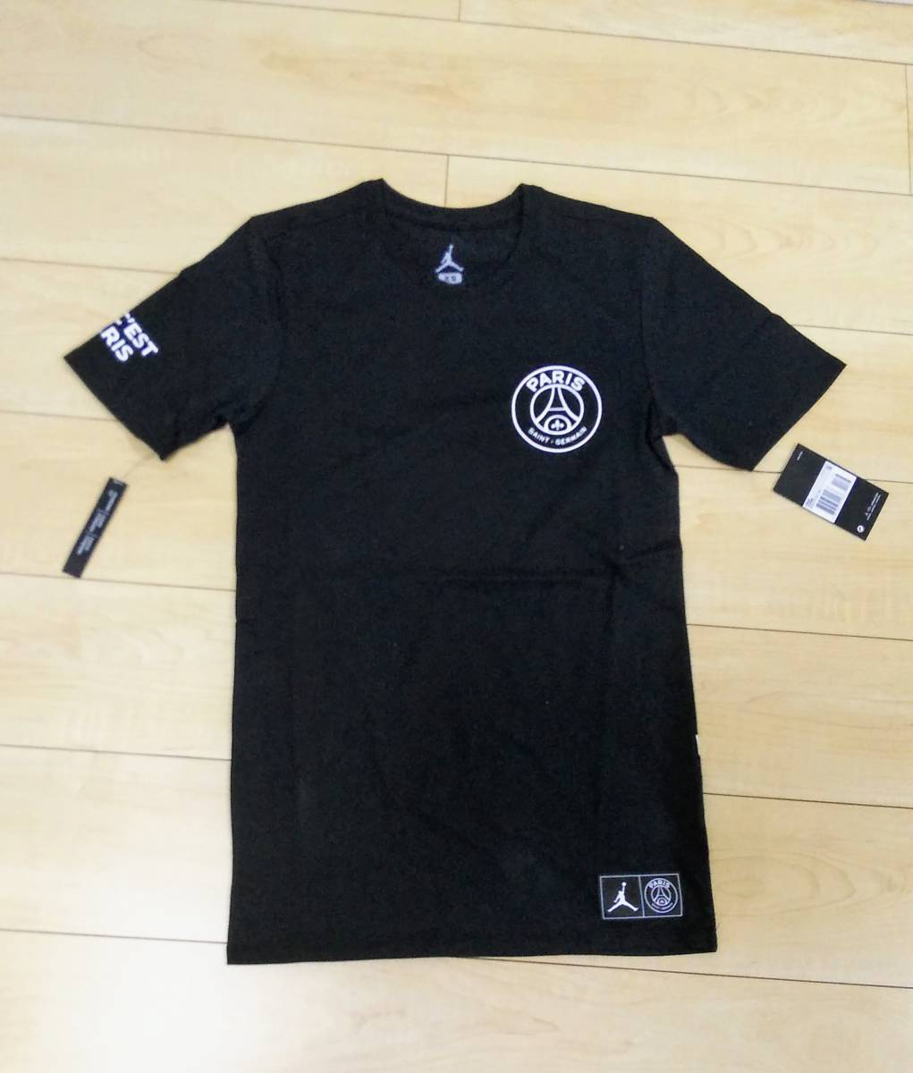 dd5fb9b63ba458 ultra rare!! NIKE Jordan PSG collaboration T-shirt XL size NIKE ...