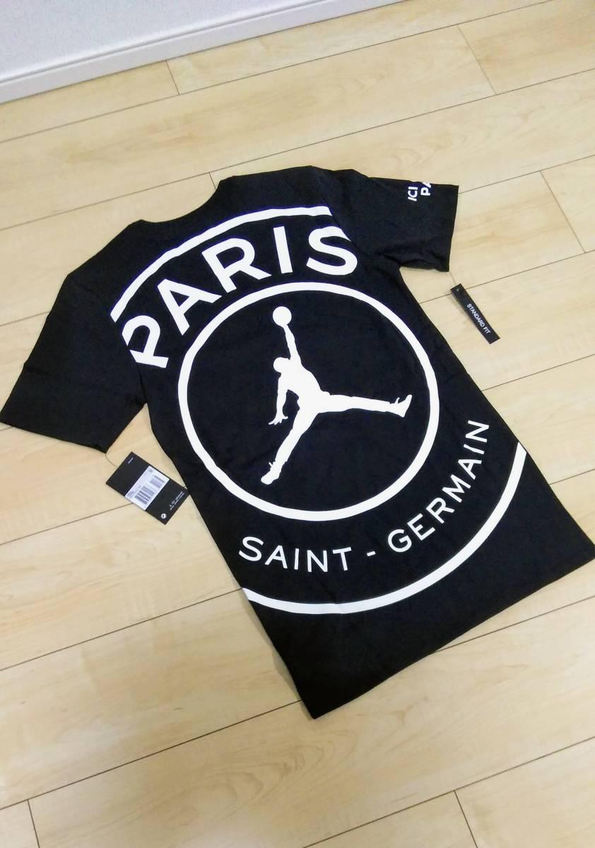 1ce10cb4d4e00f ultra rare!! NIKE Jordan PSG collaboration T-shirt XL size NIKE JORDAN PSG