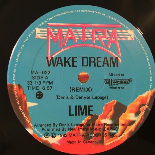 ☆Lime /Wake Dream☆イタロクラシック!_画像1