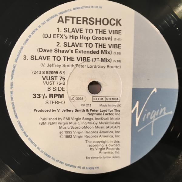 ☆Aftershock/Slave To The Vibe☆ハウスクラシック!_画像3
