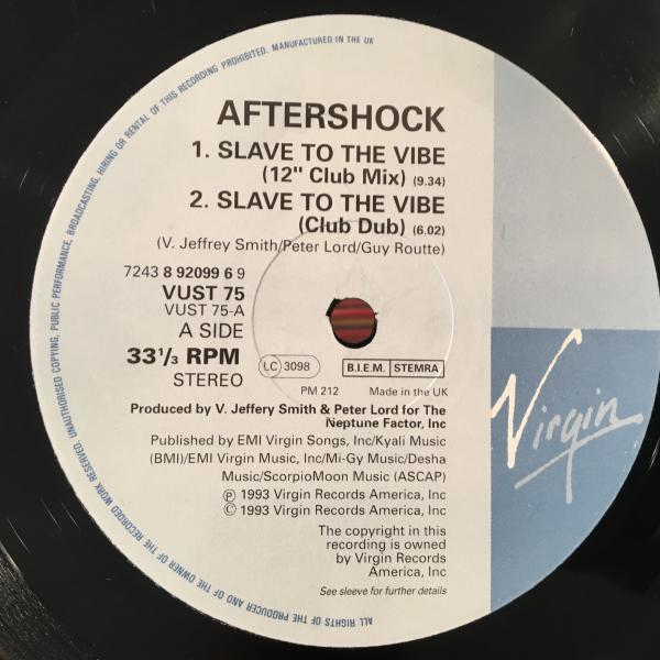 ☆Aftershock/Slave To The Vibe☆ハウスクラシック!_画像2
