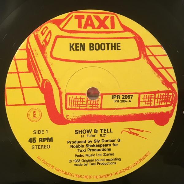 ★Ken Boothe/Show And Tell★哀愁名曲!_画像1