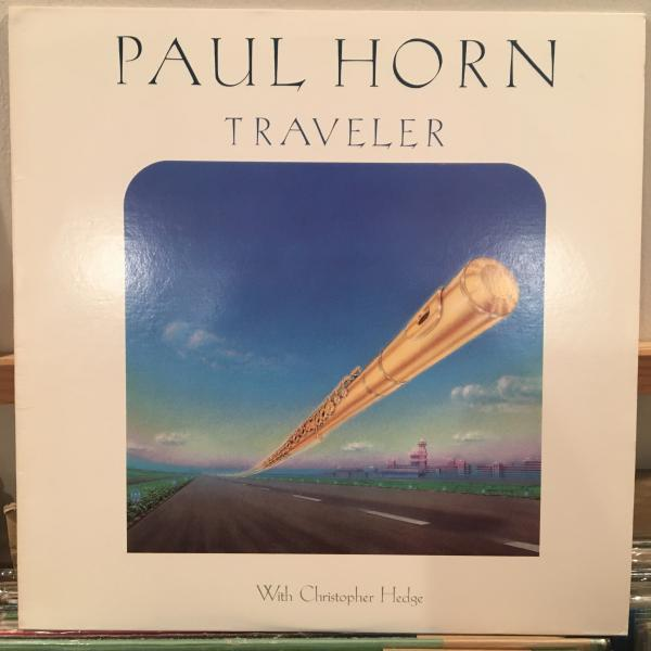 ☆Paul Horn With Christopher Hedge/Traveler☆NEW AGE JAZZ名作!