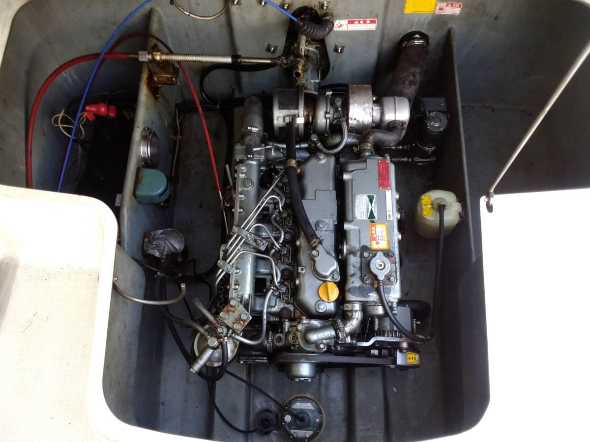 ヤンマーディーゼルエンジン EF20ZA_画像2