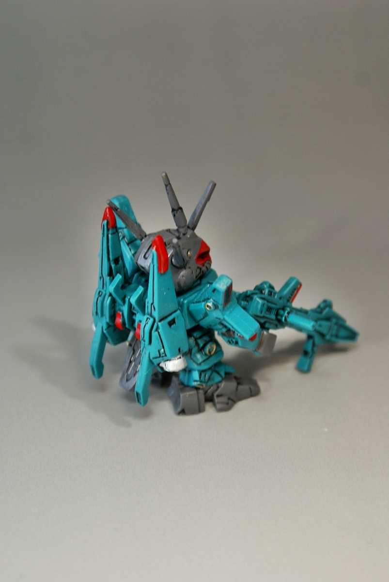 #ガシャポン戦士f #06 F036 AMX-014 ドーベンウルフ リペイント フォルテ_画像6