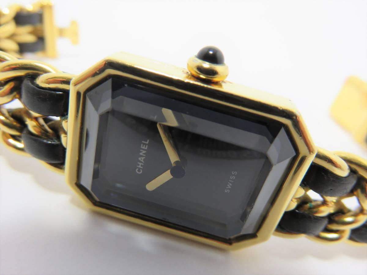 シャネル プルミエール Mサイズ ゴールド レディース 時計 W3177_画像2