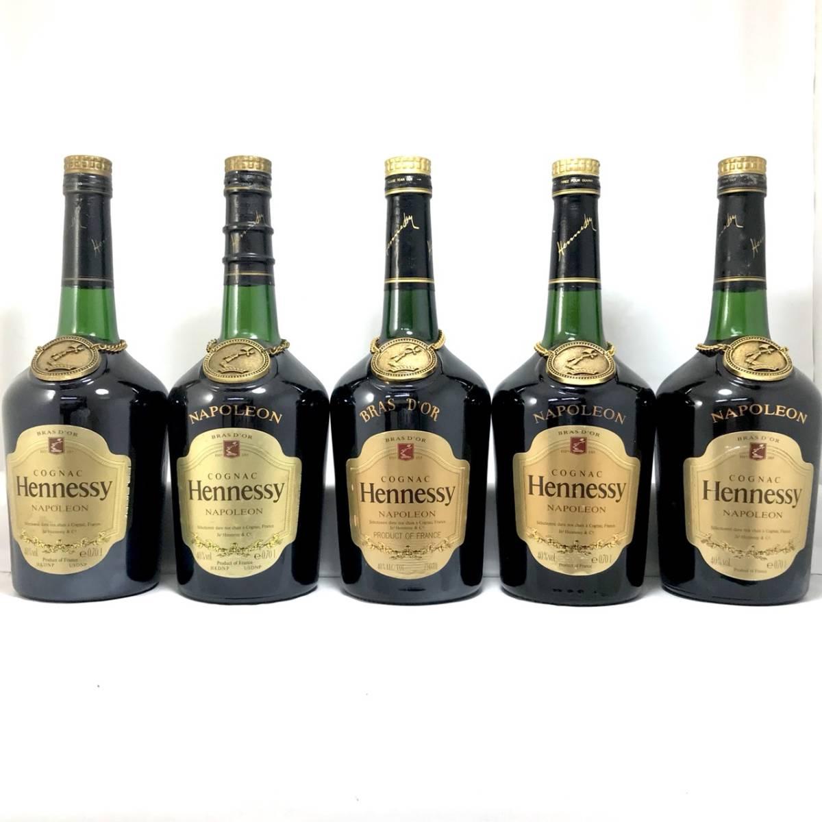 古酒 - Hennessy NAPOLEON BRASD'OR/ヘネシー ナポレオン ブラスドール 16本セット 700ml 40% ブランデー コニャック 未開栓_画像2