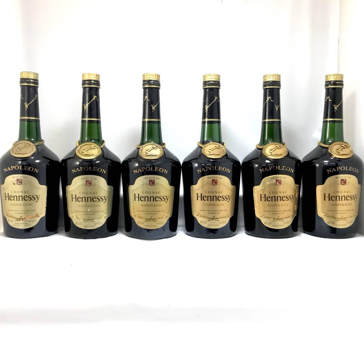 古酒 - Hennessy NAPOLEON BRASD'OR/ヘネシー ナポレオン ブラスドール 16本セット 700ml 40% ブランデー コニャック 未開栓_画像8