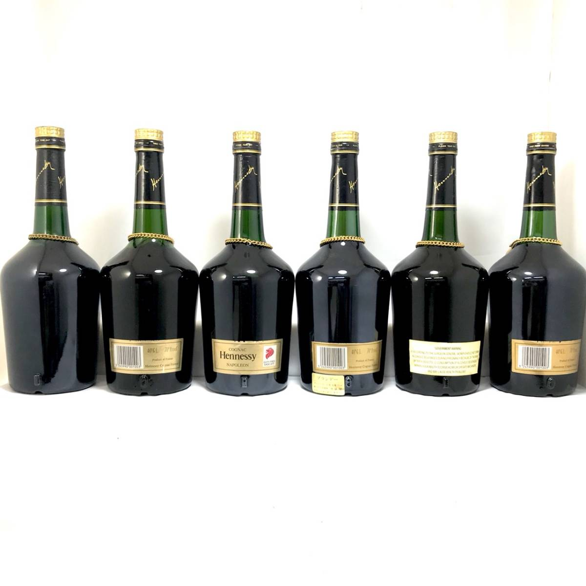 古酒 - Hennessy NAPOLEON BRASD'OR/ヘネシー ナポレオン ブラスドール 16本セット 700ml 40% ブランデー コニャック 未開栓_画像9
