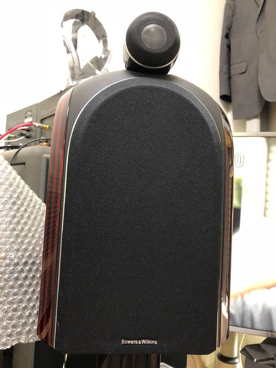 B&W スピーカー PM-1 ペア中古動作品 外観少々難あり_画像4