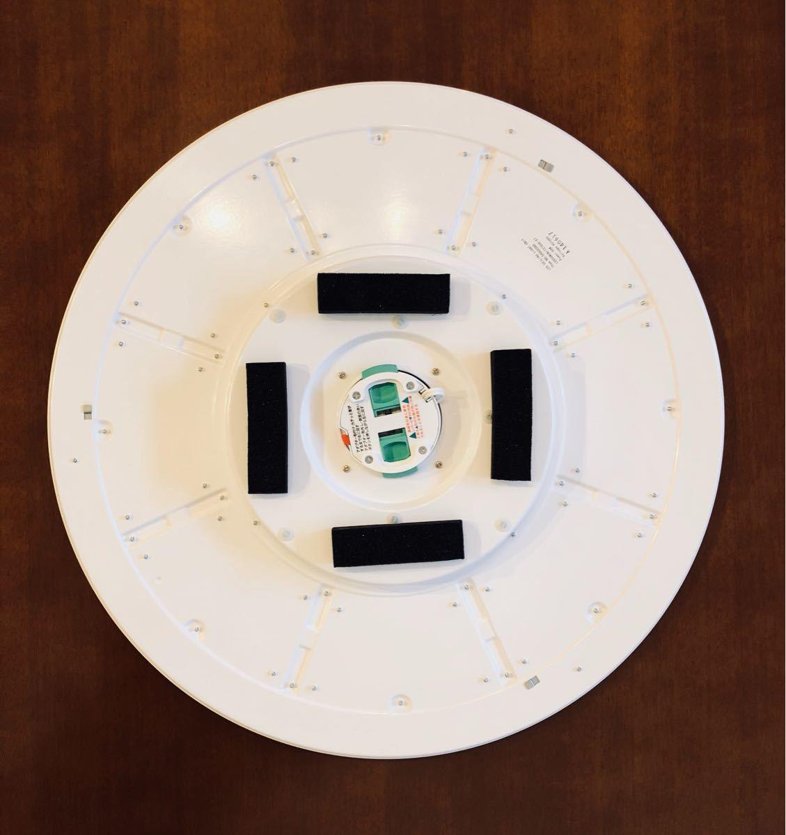 無印良品 LED木製シーリングライト 調光調色機能付 ダークブラウン_画像7