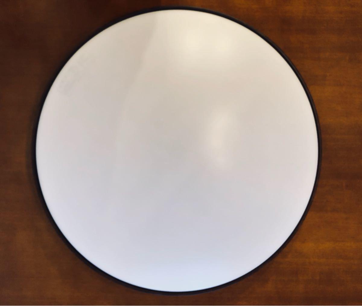 無印良品 LED木製シーリングライト 調光調色機能付 ダークブラウン_画像5