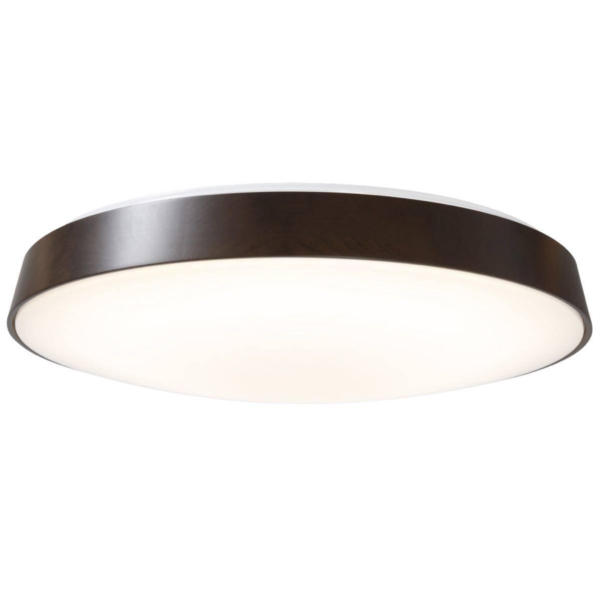 無印良品 LED木製シーリングライト 調光調色機能付 ダークブラウン