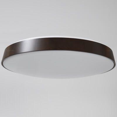 無印良品 LED木製シーリングライト 調光調色機能付 ダークブラウン_画像3