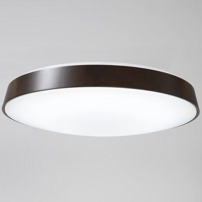 無印良品 LED木製シーリングライト 調光調色機能付 ダークブラウン_画像2