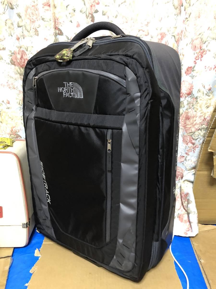 美品 1度使用 ノースフェイス スーツケース キャリーバッグ 旅行 鞄 バッグ sidetrack never stop exploring