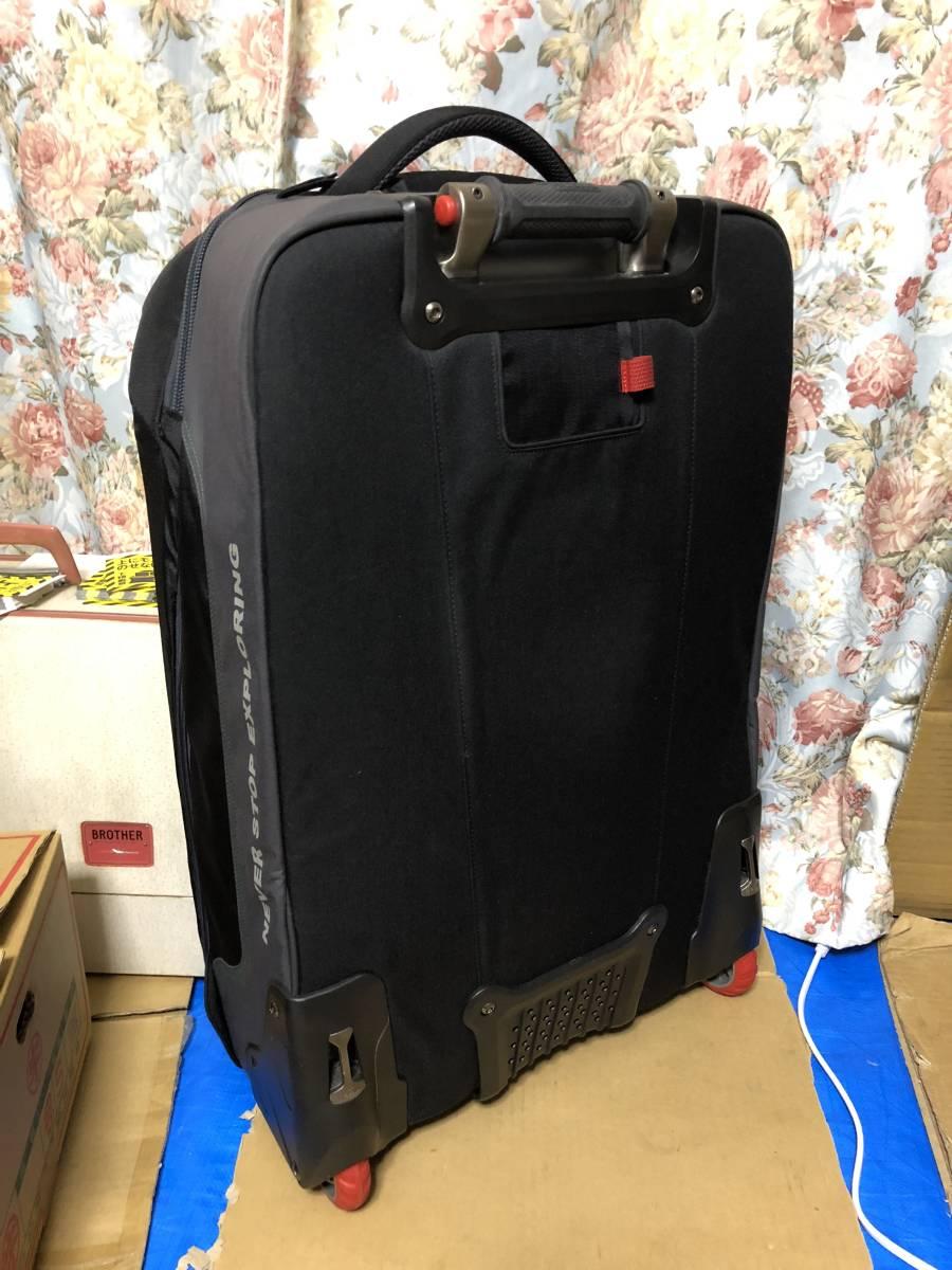 美品 1度使用 ノースフェイス スーツケース キャリーバッグ 旅行 鞄 バッグ sidetrack never stop exploring _画像2