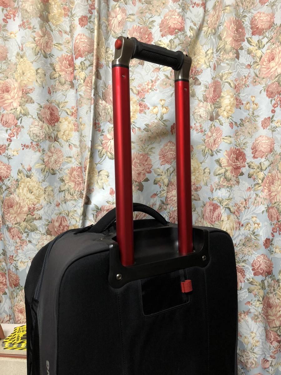 美品 1度使用 ノースフェイス スーツケース キャリーバッグ 旅行 鞄 バッグ sidetrack never stop exploring _画像3