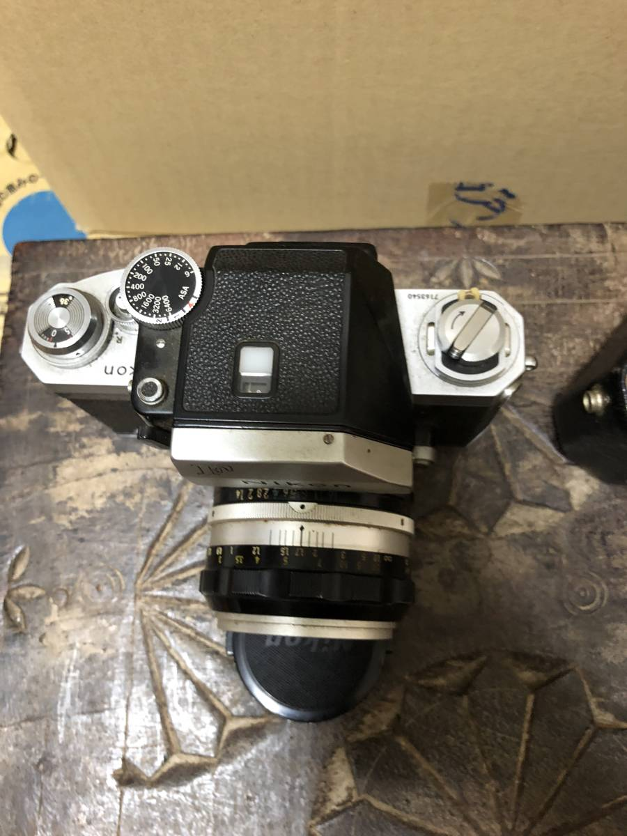 フィルムカメラ NIKON F ニコン _画像3