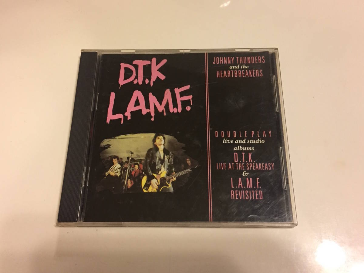 Johnny Thunders & The Heartbreakers D.T.K. - L.A.M.F. 1986年 Jungle Records FREUD CD 4 Sex Pistols New York Dolls_画像1