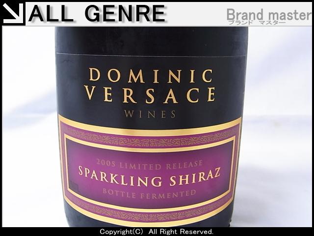 新品未開封 ドミニク ヴェルサーチ DOMINIC VERSACE 赤 スパークリング シラーズ ワイン シラーズ 2005_画像3